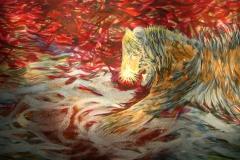 0043 Chrsolith-Tiger-uelle 2012, 100x180 cm