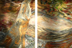 0044 Chyrsolith Wolfs Quelle 2012, 150x160 cm