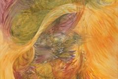 0172 der brennende Busch VII 2018, 125x90 cm
