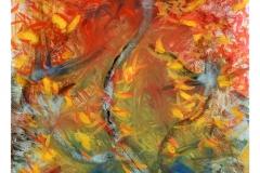 0010 Feuer-Geist 2010, 100x85 cm