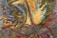 0013 Kreidolfs Wanderungen - das Wellental 2011, 100x80 cm