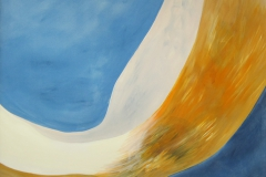 0146 kopfueber 8, 2017, 130x140 cm