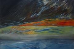 0151 Dunkelkammer 3, 2017, 100x110 cm