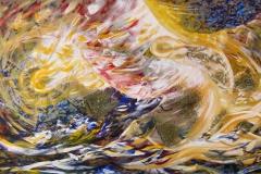 0024 Sonnenwaechter 2011, 100x180 cm