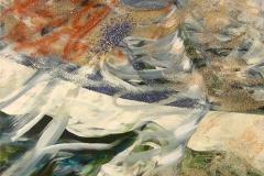 0027 Derwisch Lapislazuli 2012, 80x75 cm