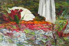0045 Karneol Koenig Lindwurm 2013, 100x180 cm