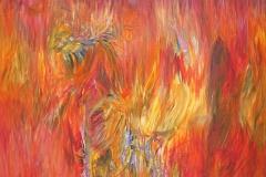 0171 der brennende Busch VI 2018, 125x90 cm