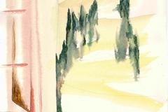 005 Fenster I Montegufoni 1996